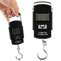Cheap LCD display 50kg 110lb Digital LCD Hanging Fishing Weighing Scale Counting Scale
