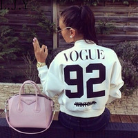 Wholesale New Women Vogue Printed Coat Jacket Casual Short Cardigan Baseball Coat Bomber Jacket Chaquetas