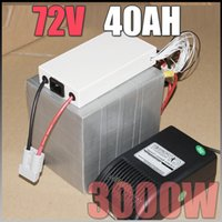 Wholesale 72V Ah LiFePO4 Battery Pack W Electric Bicycle Battery BMS Charger v lithium scooter electric bike battery pack