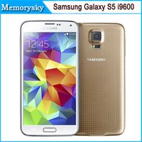 android super amoled - Samsung Galaxy S5 i9600 quot Super AMOLED Quad Core GB ROM Android Mobile Phone Refurbished Original Unlocked by DHL