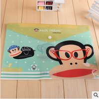 Wholesale New Character Style File Folder A4 documents File Bag Stationery Filing Production School Offfice Supplies Archivador