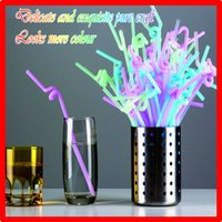 beer tap towers - New Arrival Real Rubber Wine Glasses Beer Tower Beer Tap Fine Art for Disposable Beverage Straws