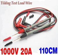Wholesale 4pcs Cooper Tilding Test Lead Wire Probe Cable for Multimeter Meter A801