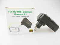 Wholesale WiFi Wall Charger Hidden Camera Adapter Adaptor P HD Recorder DVR