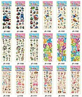 Wholesale 30000 Sheets Frozen Design Kids Cute PVC Puffy Stickers D Stickers Cartoon Sticker Craft Scrapbook Stickers