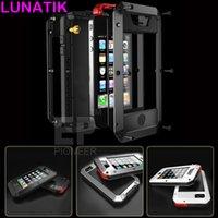 lunatik - Lunatik Taktik For Iphone Case Cover Premium Protect Shockproof Waterproof Dustproof Metal Case Cove for iphone Case S Samsung S5 S4
