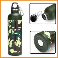 Wholesale Top Quality ML Outdoor Sports Double Layer Stainless Steel Thermal Vacuum Insulation Water Bottle Vacuum Cup for Hiking Camping Cycling