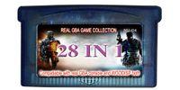 Compra Juego de gba envío-28in1 multi_games cart / nave libre / para la consola real de GBA y la consola de WOODISP ambos / todos los juegos son juegos verdaderos del gba