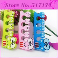 applying nail polish - Wearable Manicure Tool Fingers Toes Separator Used when Apply Nail polish nail gel pait
