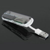 big memory card - Hot Selling High Speed in USB Memory Card Reader for SDHC TF Micro SD MMC MS Big Discount
