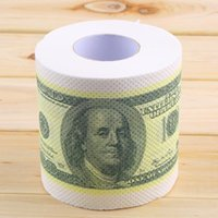 paper money - High quality One Hundred Dollar Bill Toilet Paper Novelty Fun TP Money Roll Gag Gift