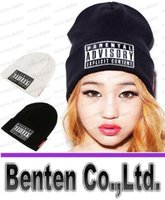 Cheap NEW Parental Advisory Explicit Lyrics Beanies SKULL CAP HIP HOP Hat men Women Wool Cap Fashionable Winter Hat LLFA4180F