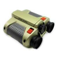Wholesale Child Night Vision Telescopes Surveillance Scope Binoculars With LED Light Gift