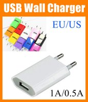 Wholesale usb Wall Charger Home Travel Adapter Wall Charger USB True V A mAh US EU plug Micro USB Wall Charger For iphone Galaxy S5 S6 CAB049