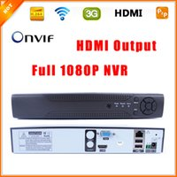 Wholesale Outstanding ONVIF CCTV NVR for IP Camera Full P H HDMI Output CH CH optional Surveillance System NVR