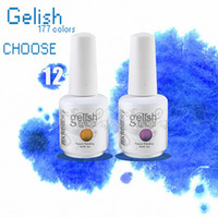 Wholesale 2014Gelish Hot Sale Soak off UV Gel Nail Polish colors top base Colors Available ml