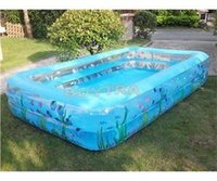 Wholesale 2014 New Arrival High end family oversized plus size baby swimming pool Baby Inflatable Swimming Pool