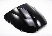 Wholesale High quality Double Bubble Windscreen Windshield for Honda CBR900RR Black Transparent Blue