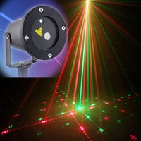 Wholesale New Christmas light outdoor garden laser patterns Christmas garland laser projector waterproof Christmas lights with remote controller