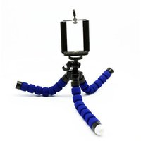 Wholesale Dropship Portable Holder Digital Camera Flexible Octopus Leg Tripod Bracket Selfie Stand Adapter Mount Monopod Bubble For Mobile Phone