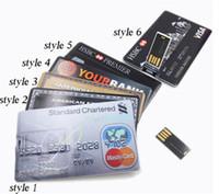 america memory - 2015 China GB GB GB Credit Card Shape America express USB Flash Drive Pen Drive Memory Stick with epacket ship