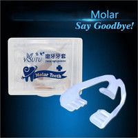 Wholesale New Adult Invisible Teeth braces Prevent odontoprisis Straightening teeth retainer Transparent dental appliance with Packing Box