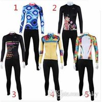 Wholesale paladin cycling jersey Colored squares cycling suits Rose Flower biking sets flower riding kits women s sportswear