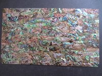 abalone shell sheets - Top grade Green paua Abalone sheet shell laminate shell paper furniture inlay guitar accessories mm mm thick