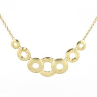 ancient circle - 2016 New Foreign Trade ancient gold round Circle pattern Explosion Models big European and American Fashion Necklace Factory Direct ZY