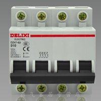 Wholesale West Germany miniature circuit breaker air switch DZ47 P D10A power type