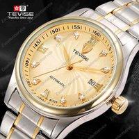 batteries hong kong - TEVISE Men Watches Hong Kong Top Brand Luxury Men Military Wrist Watches Men Full steel Watch
