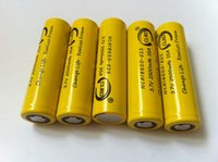 Wholesale 2015 best quality high drain kanger kbox mod battery mah amp NCA18650 E25 high drain box mod battery in stock