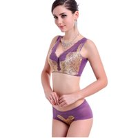 Wholesale Brand popular vest style beauty back clients gather deep V gathered all the bra cup