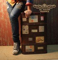 Wholesale Photography props studio props oversized vintage suitcase cm