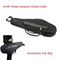 Wholesale Professional Alto Sax Saxophone Gig Bag Case Backpack D Water resistant Oxford Cloth Design Saxophone Accessories