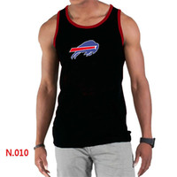 animal rhymes - Buffalo men s tank tops casual slim fit tank tops stretch Bills fitness rhyme vest for man color