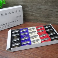 Wholesale Authentic Shanghai friendship Pencil Sharpener dual hole Sharpener Pro makeup needed eyebrow pencil eyeliner Sharpener