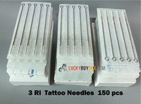 rl - 150pcs RL Tattoo Needles Best Quality Sterile Tattoo Needle Needles Assorted For Tattoo Gun Ink Kits Supplies