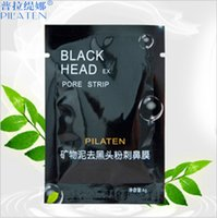 Wholesale 10000 BBA4044 Facial Minerals Conk Nose Blackhead Remover Mask Pore Cleanser Nose Black Mud Masks Deep Clean Black Moor Masks Acne Remover
