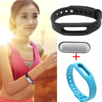 Wholesale Xiaomi Lightweight IP67 Smart Wireless Bluetooth Sports Bracelet with Replacement Wrist Band for iPhone Android Phone