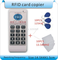 Wholesale powerfulset frequency RFID KHZ MHZ IC card writer RFID copier KHZ MHZ