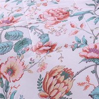 Wholesale cotton flower comforter set summer seasons beautiful goodliness quilt comfortable