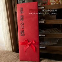Wholesale Wedding Signature Book organ opened the ceremony the guests bow Directory sign this wedding wedding attendance thin