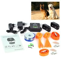 Wholesale Waterproof In Ground Electronic Wireless Remote Pet Dog Fence Collar Containment System for dogs
