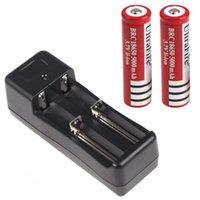 Wholesale Universal Battery Charger V mAh UltraFire Rechargeable Li ion Battery