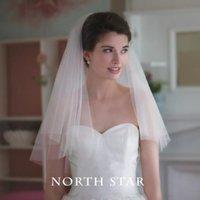 Wholesale White Cheap Wedding Veils Wedding Veil Vintage Simple Bridal Veils Bridal Accessories Cheap In Stock