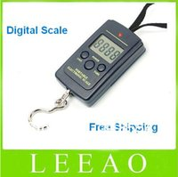 Cheap 25pcs lot # 40kg - 20g Weight Digital Scale Handy Scales Hanging Luggage Fishing Pocket Scale Hook Portable Free Shipping