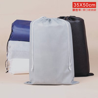 portable garage - Portable Prevent Dust Non Woven x50cm Basketball Shoes Short Boot Beam Port Drawstring Travel Pouch Travel Groceries Thick Bag