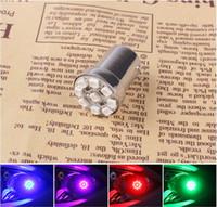 Wholesale 1 Pair Brake Tail Turn Signal LED light Motorcycle Lights for Harley Honda Suzuki six colors