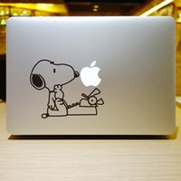 Wholesale The series of SNOOPY Creative personality Vinyl Local Decal Sticker Skin for Apple MacBook12 quot air11 quot quot Pro13 quot quot quot Retina13 quot quot